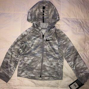 NWT! Boys Nike Grey Hoody, Size 4T